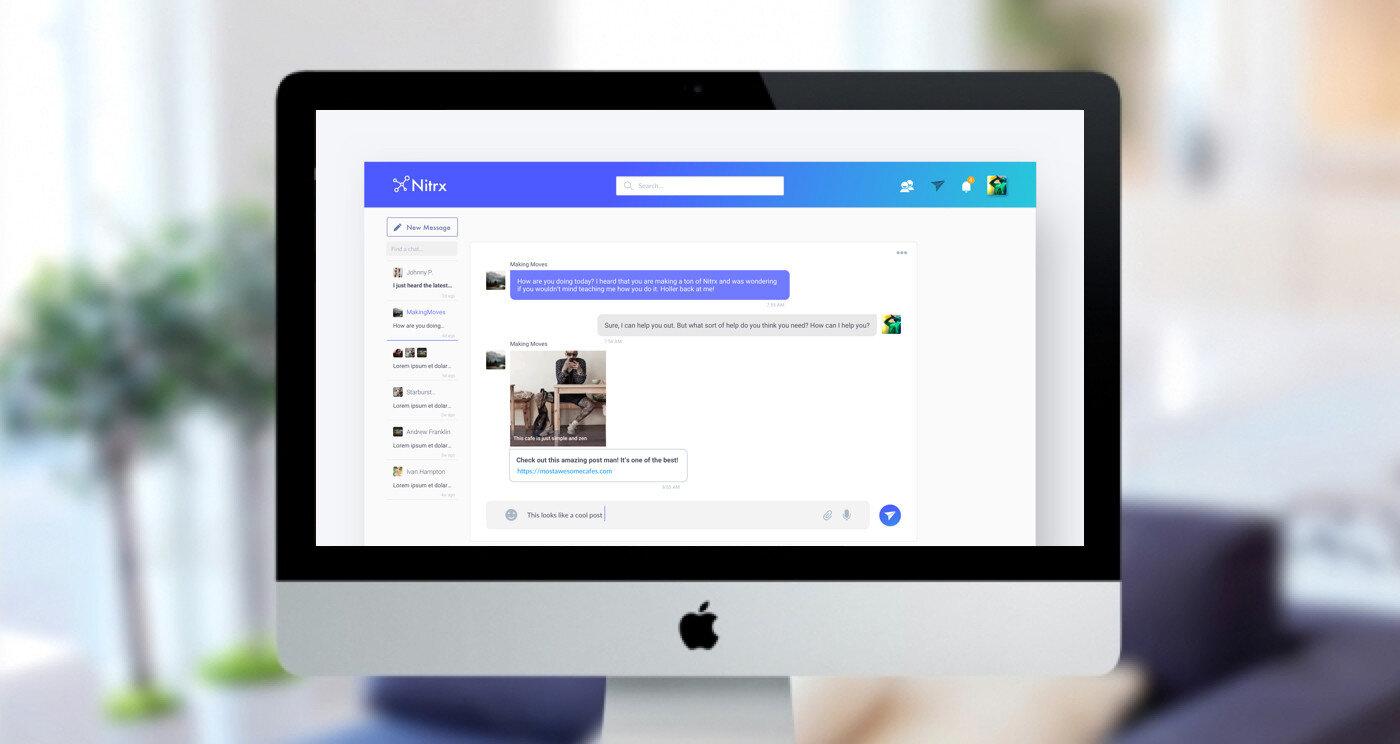 Nitrx Web Messaging